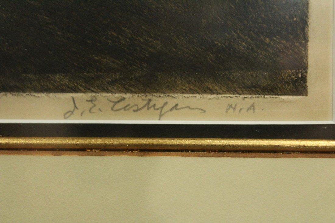 JOHN COSTIGAN  (1888 - 1972) SUNDOWN Signed Etching - 3