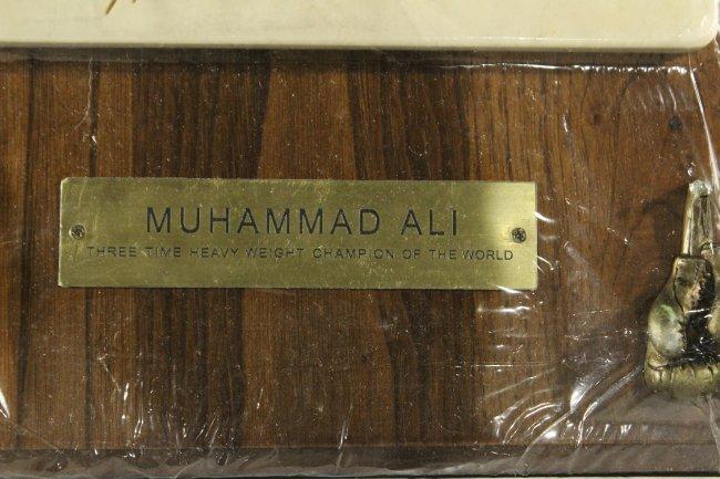MUHAMMED ALI HAND PRINT , Three Time Heavy Weight Champ - 2