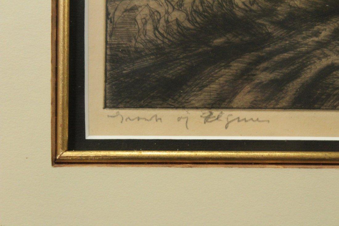 JOHN COSTIGAN  (1888 -1972) FARM FIGURES Signed Etching - 4
