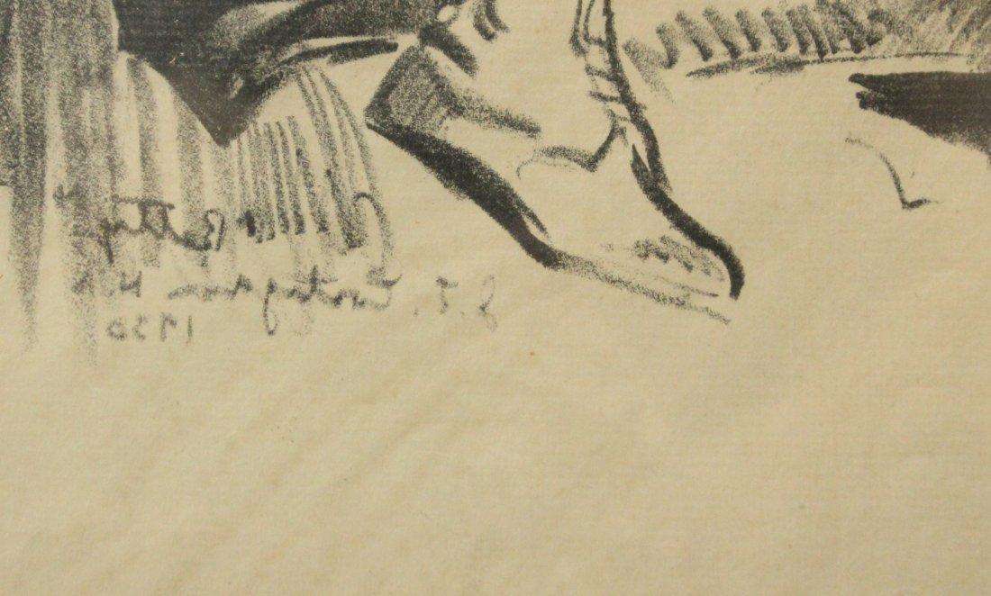 JOHN COSTIGAN  (1888 - 1972) BETTY Signed Etching. - 3