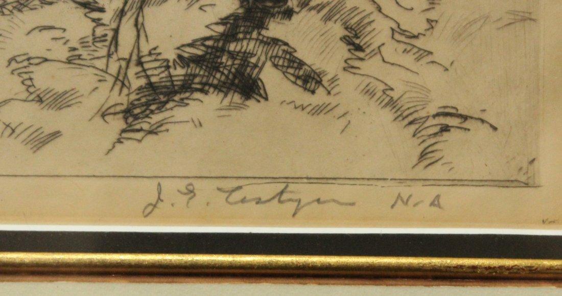JOHN COSTIGAN  (1888 - 1972) SPRING TIME Signed Etching - 3