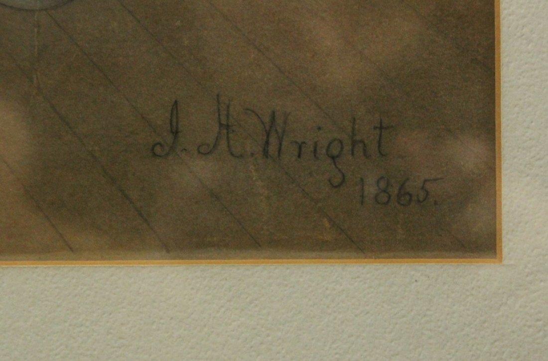 J H WRIGHT 1865 Colored Lithograph RYSDYKS HAMBLETONIAN - 3
