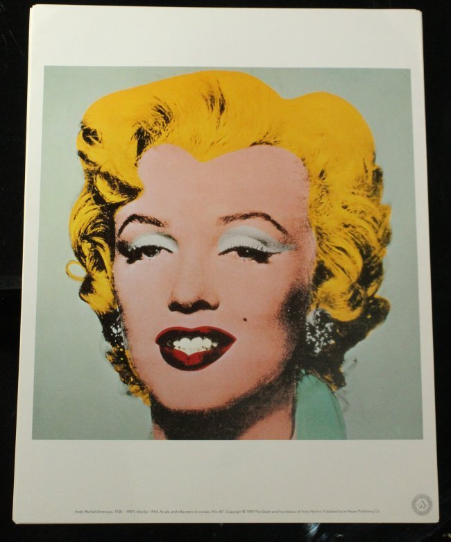 ANDY WARHOL Six [6] PORTRAIT portfolio prints - 2