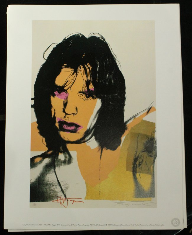 ANDY WARHOL Six [6] PORTRAIT portfolio prints - 5