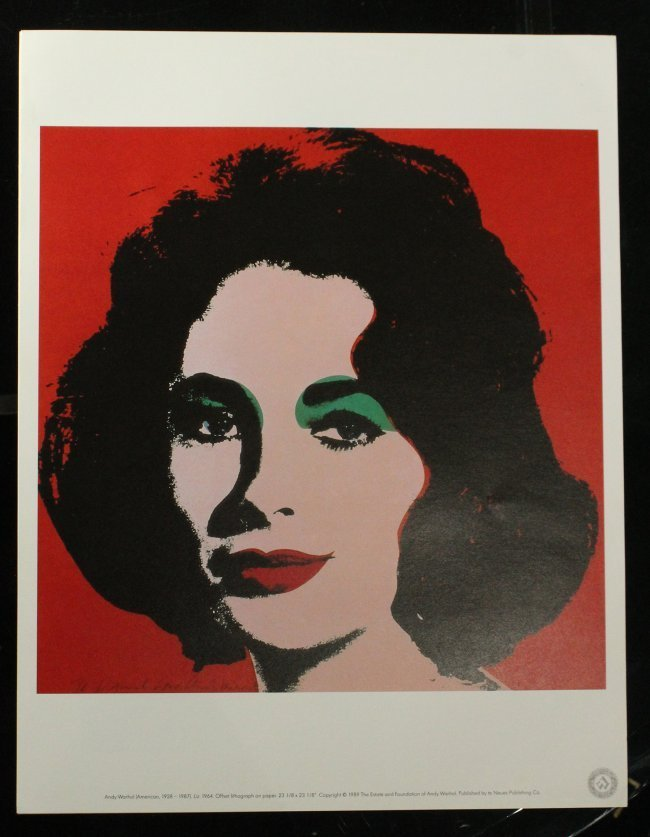 ANDY WARHOL Six [6] PORTRAIT portfolio prints - 7
