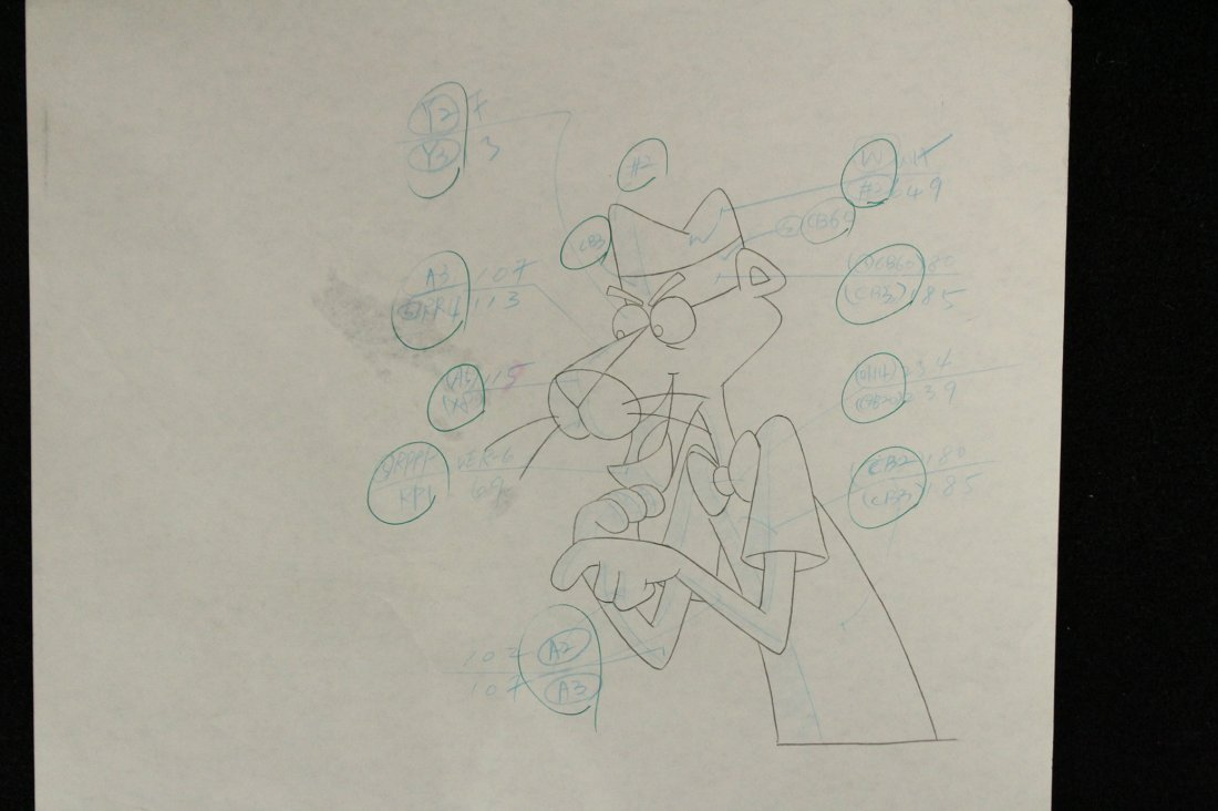 Two [2] PINK PANTHER ANIMATION CELS - 3