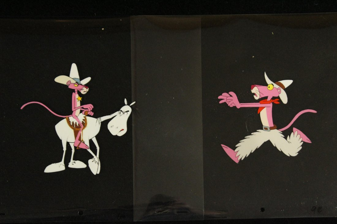 Two [2] PINK PANTHER ANIMATION CELS - 6