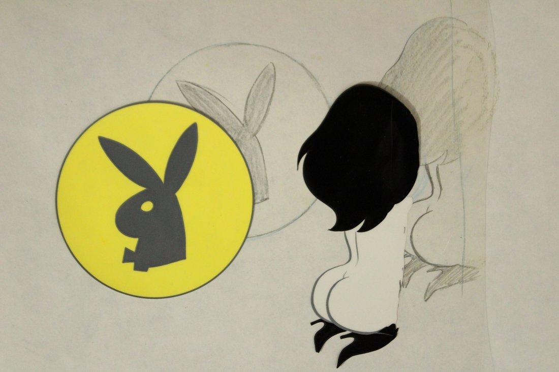 Leroy Neiman Playboy CEL unsigned - 4