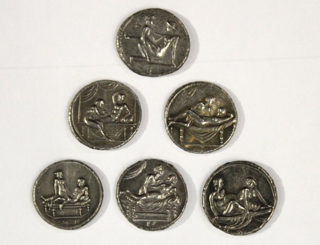 Six [6] Ancient Style Coins