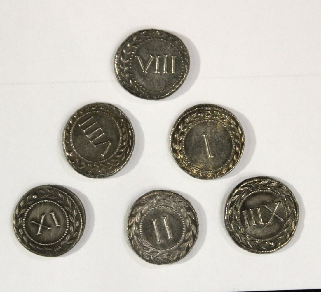 Six [6] Ancient Style Coins - 2