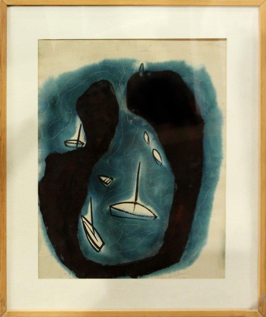 John Ward McClellan  (1908 -1986) Mid-Century ORIG. ART