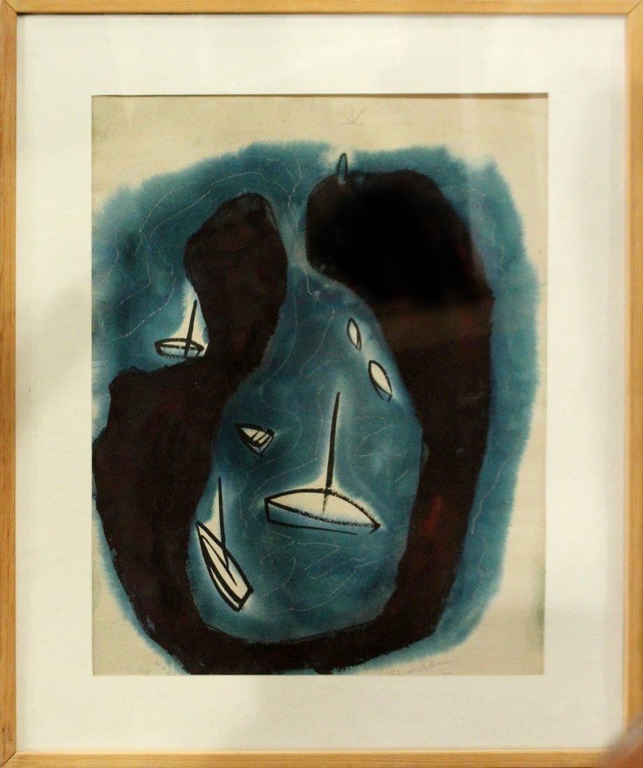 John Ward McClellan  (1908 -1986) Mid-Century ORIG. ART - 2