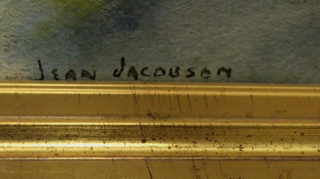 JEAN JACOBSON Mid-Century Modern Still Life Oil/B - 3