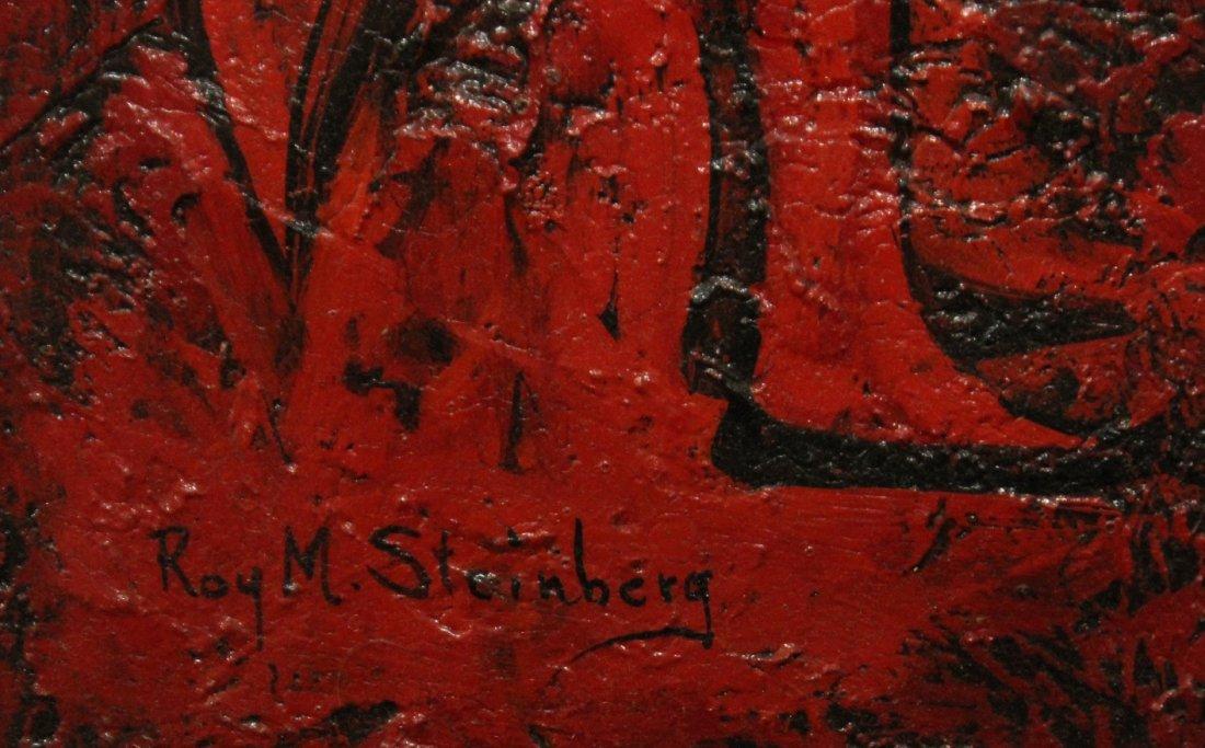 ROY L STEINBERG, Listed Artist, OIL/B BULL FIGHTER - 3