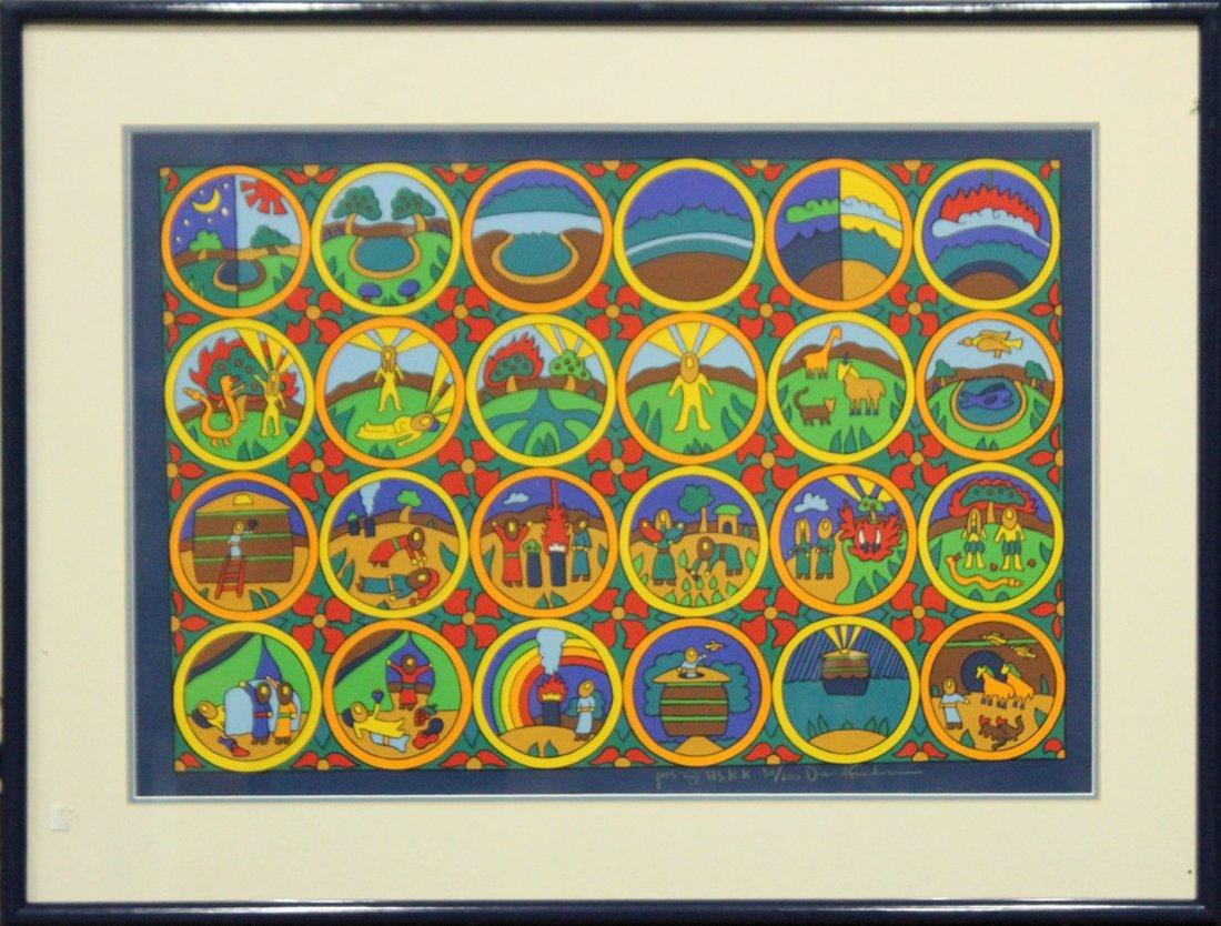 DAVID FRIEDMAN  (1893 - 1980) Jewish Lithograph 30/200