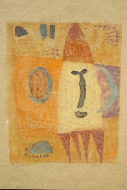 Latin American Signed ABSTRACT ROCKET MAN SPACE AGE - 2
