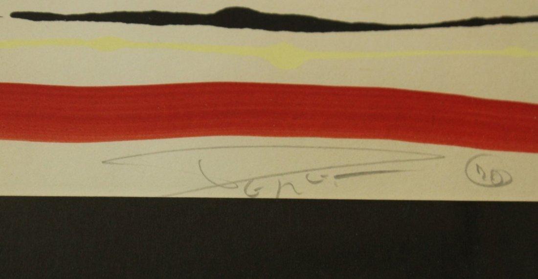 FRANCESCO PEREZ '70 BULL FIGHT Lithograph #23/120 - 4