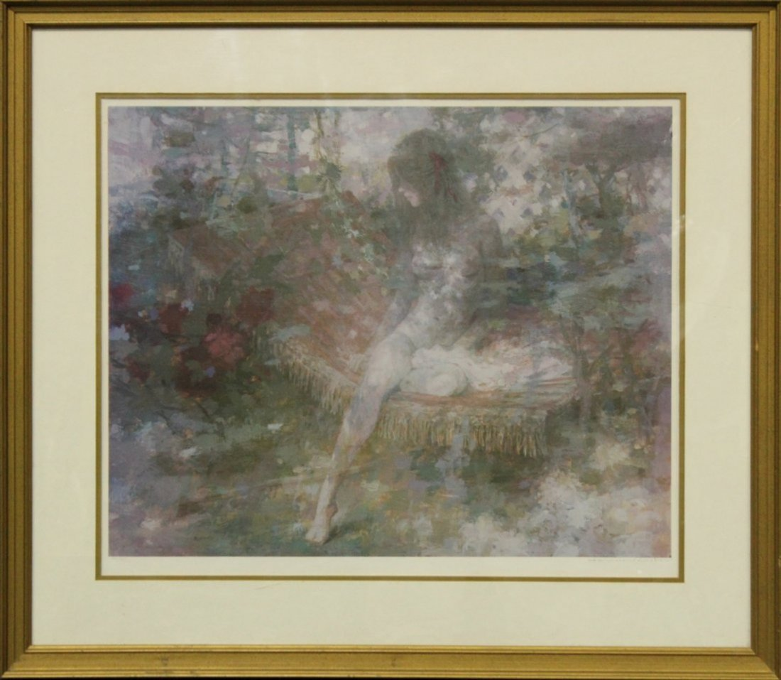 HARRISON RUCKER Lithograph with COA