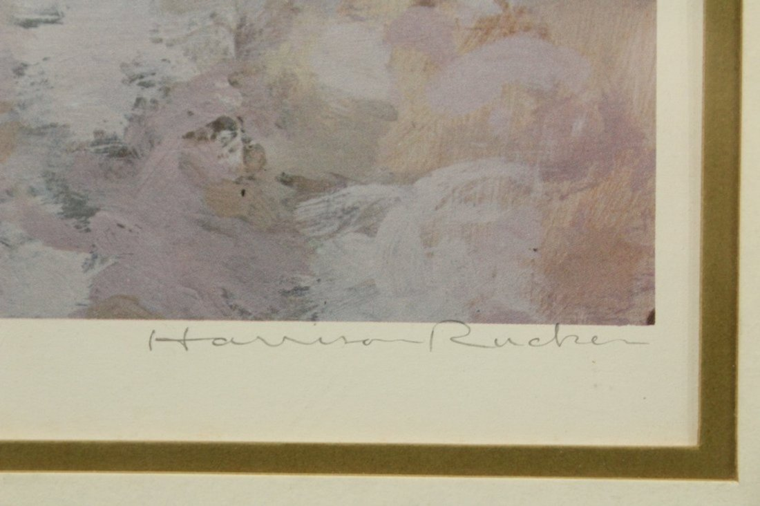 HARRISON RUCKER Lithograph with COA - 2