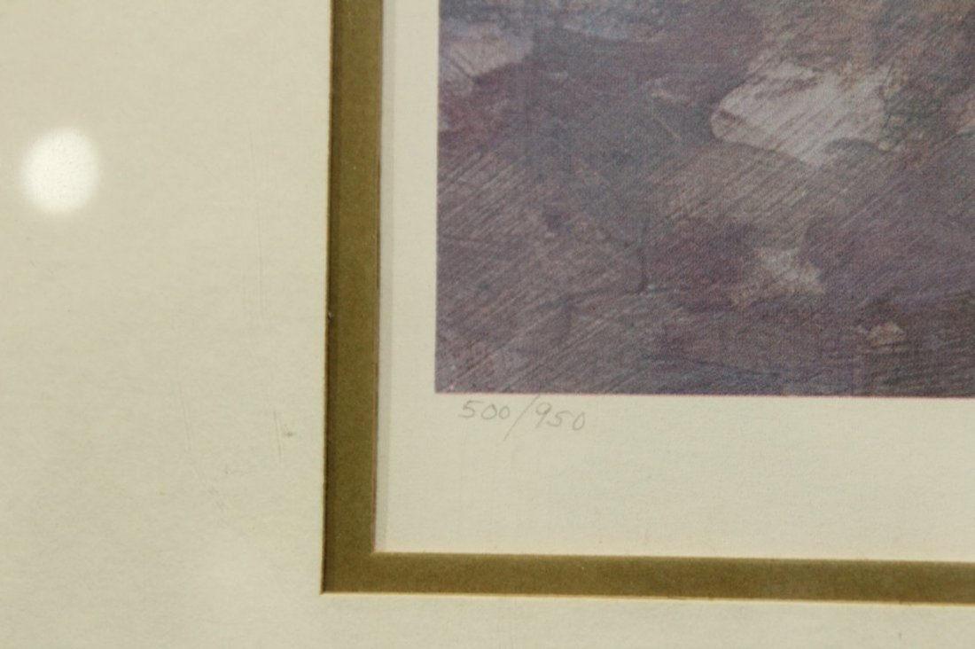 HARRISON RUCKER Lithograph with COA - 3