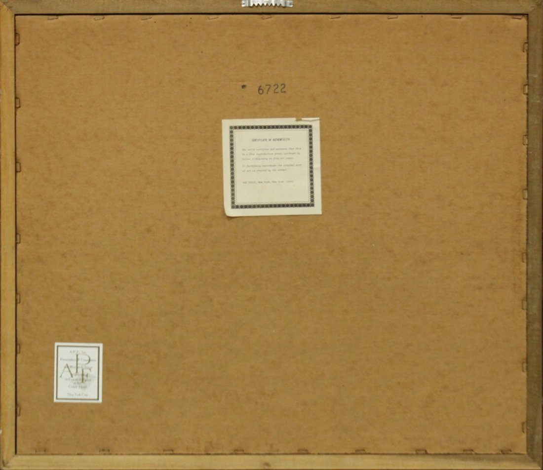 HARRISON RUCKER Lithograph with COA - 5