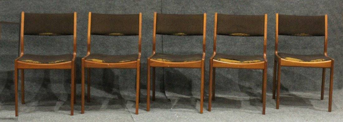 "Five [5] Mid-Century Design Chairs  ""d-Scan Singapore"""