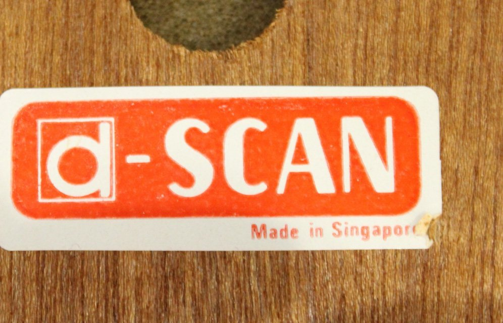 "Five [5] Mid-Century Design Chairs  ""d-Scan Singapore"" - 7"