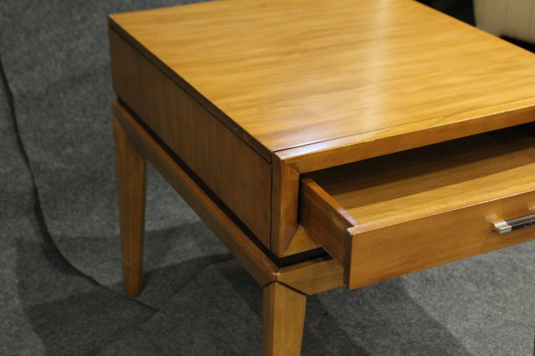 Mid-Century Modern ONE DRAWER BED STAND - CLEAN - 3