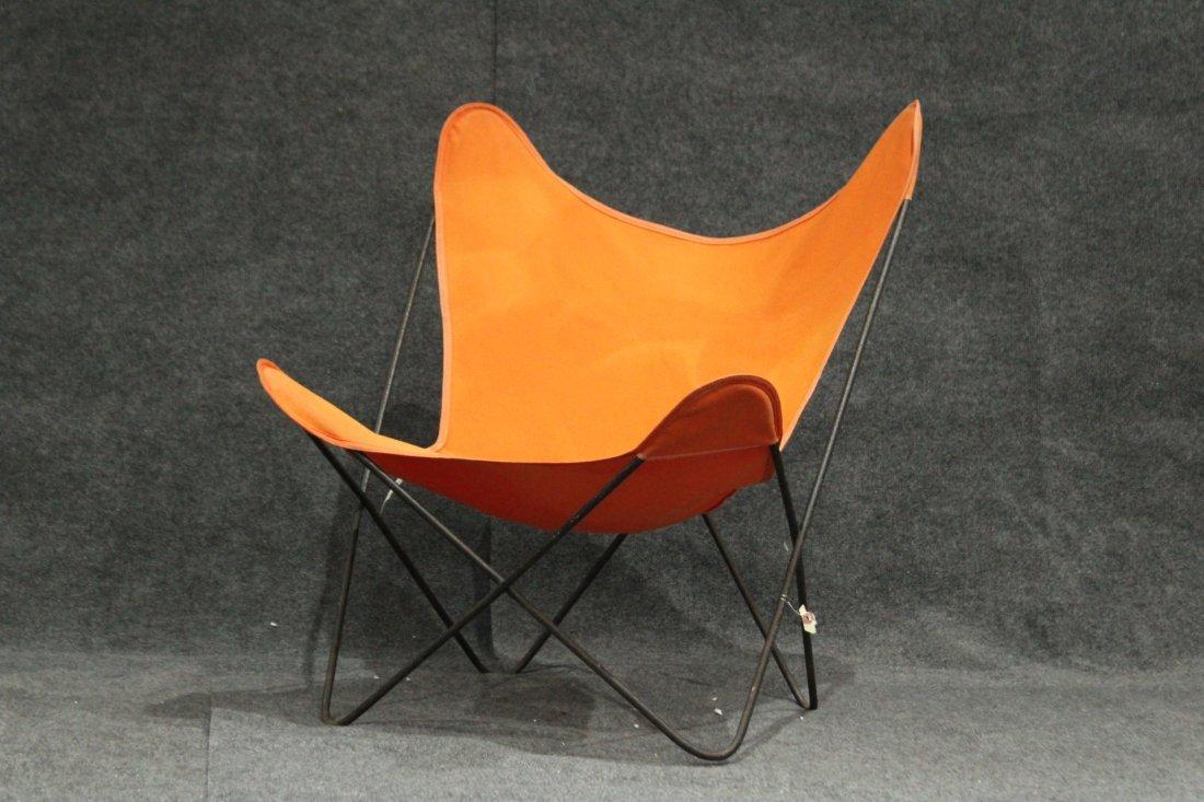 Original Vintage BUTTERFLY CHAIR Orange Upholstery
