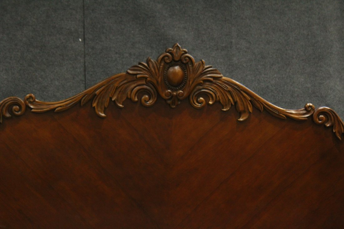 Carved CUSTOM MAHOGANY DAYBED Contemporary Victorian - 3