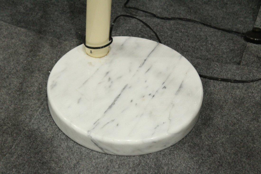Mid-Century Design 5-ARM ARC LAMP ROUND MARBLE BASE - 3