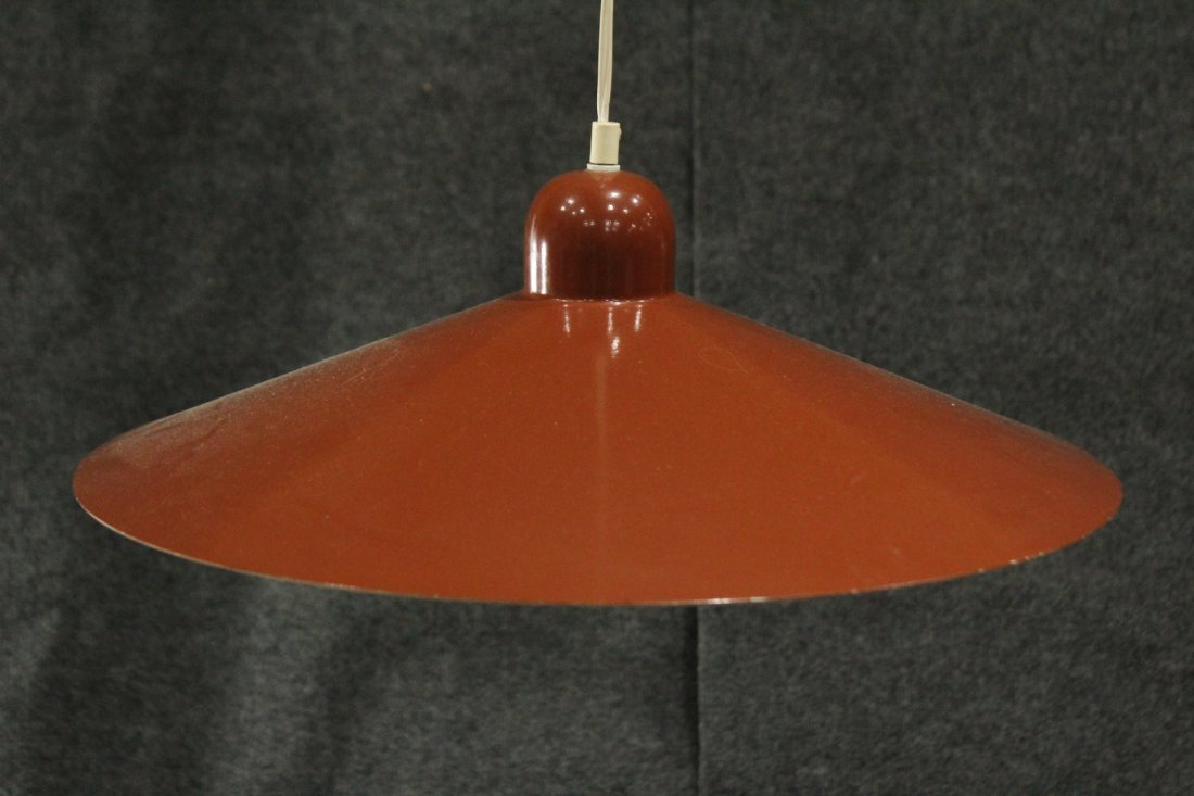 LUMIERE FRANCE Mid-Century Modern DOUBLE HANGING LIGHT - 3