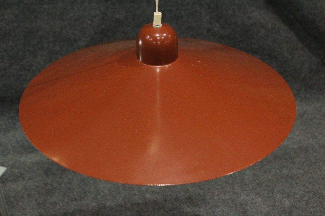 LUMIERE FRANCE Mid-Century Modern DOUBLE HANGING LIGHT - 5
