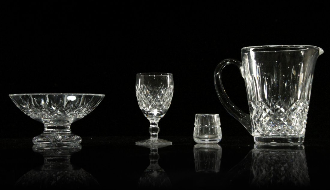 Four [4] Assorted Pieces WATERFORD Crystal All Signed