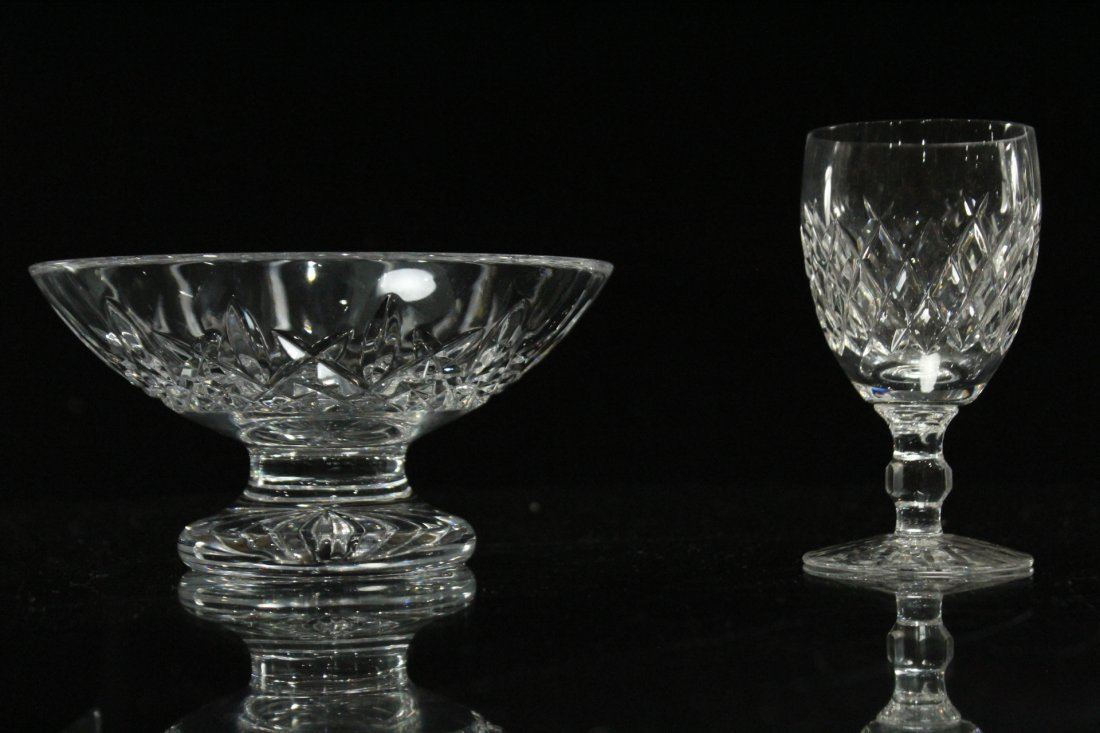 Four [4] Assorted Pieces WATERFORD Crystal All Signed - 2
