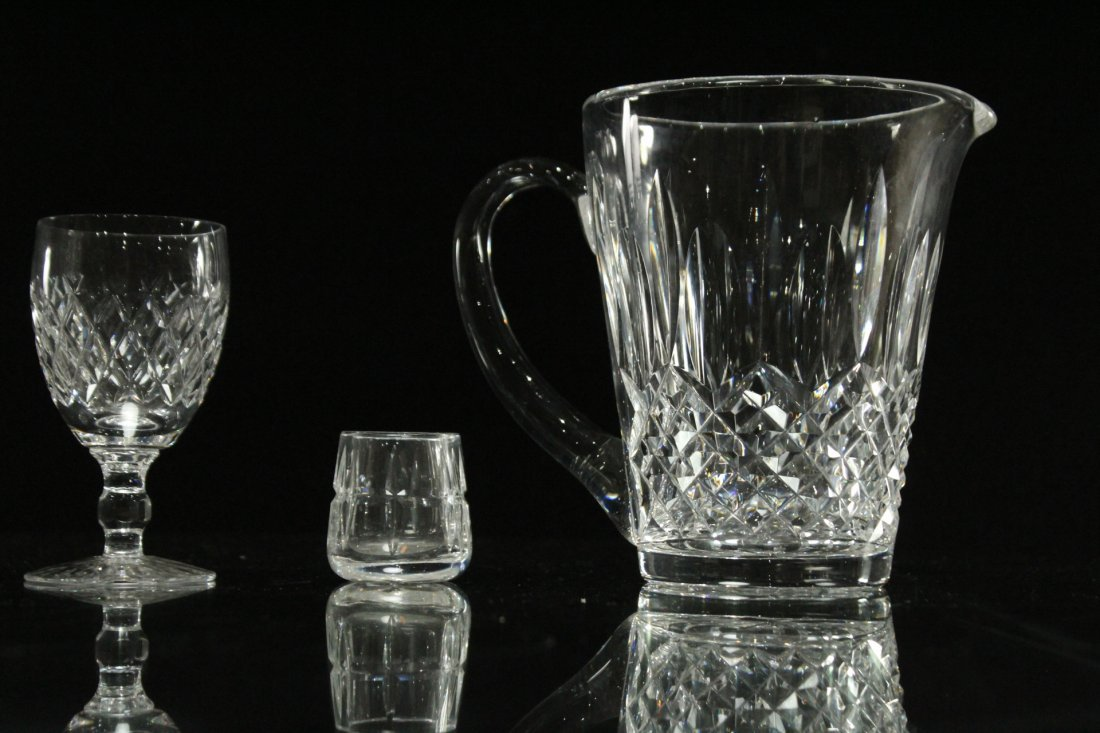 Four [4] Assorted Pieces WATERFORD Crystal All Signed - 3