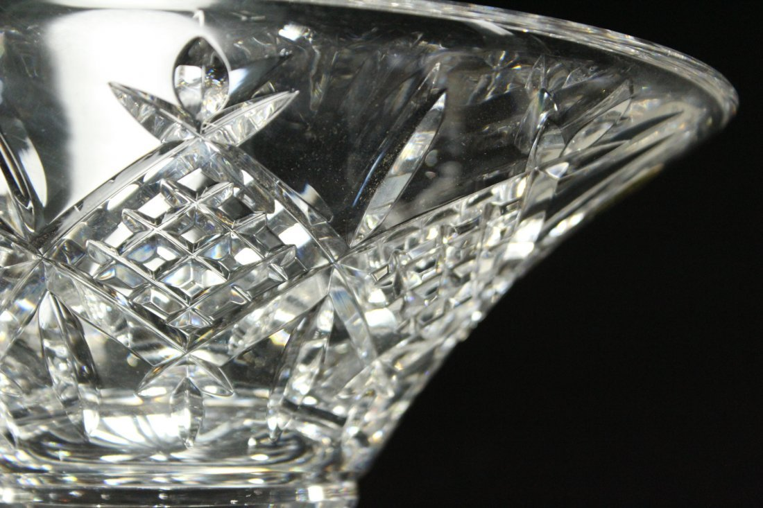 TWO [2] Pieces WATERFORD Crystal Bowl, Serving Plate - 7