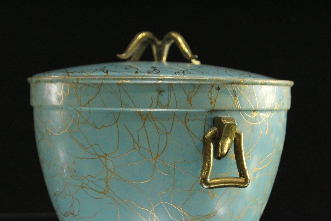 EAMES ERA Mid-Century Porcelain Lined ICE BUCKET - 6