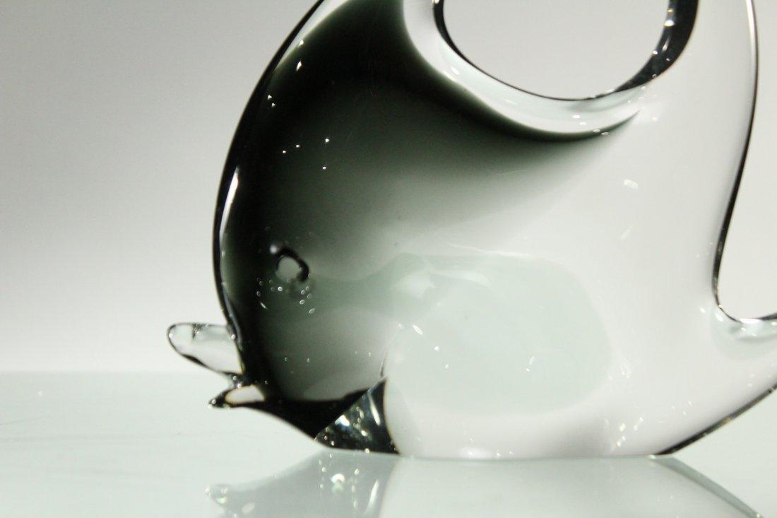 MURANO Italian ART GLASS FISH FIGURINE - 2