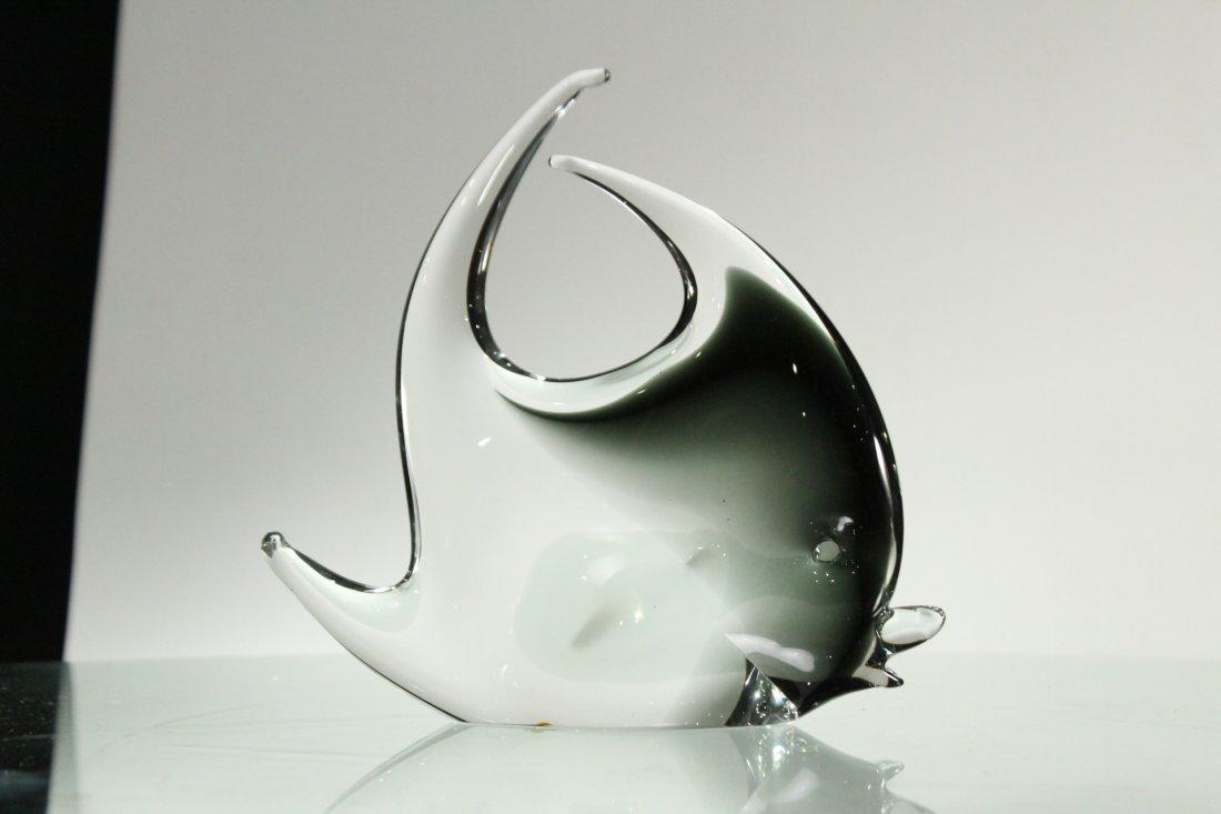 MURANO Italian ART GLASS FISH FIGURINE - 3