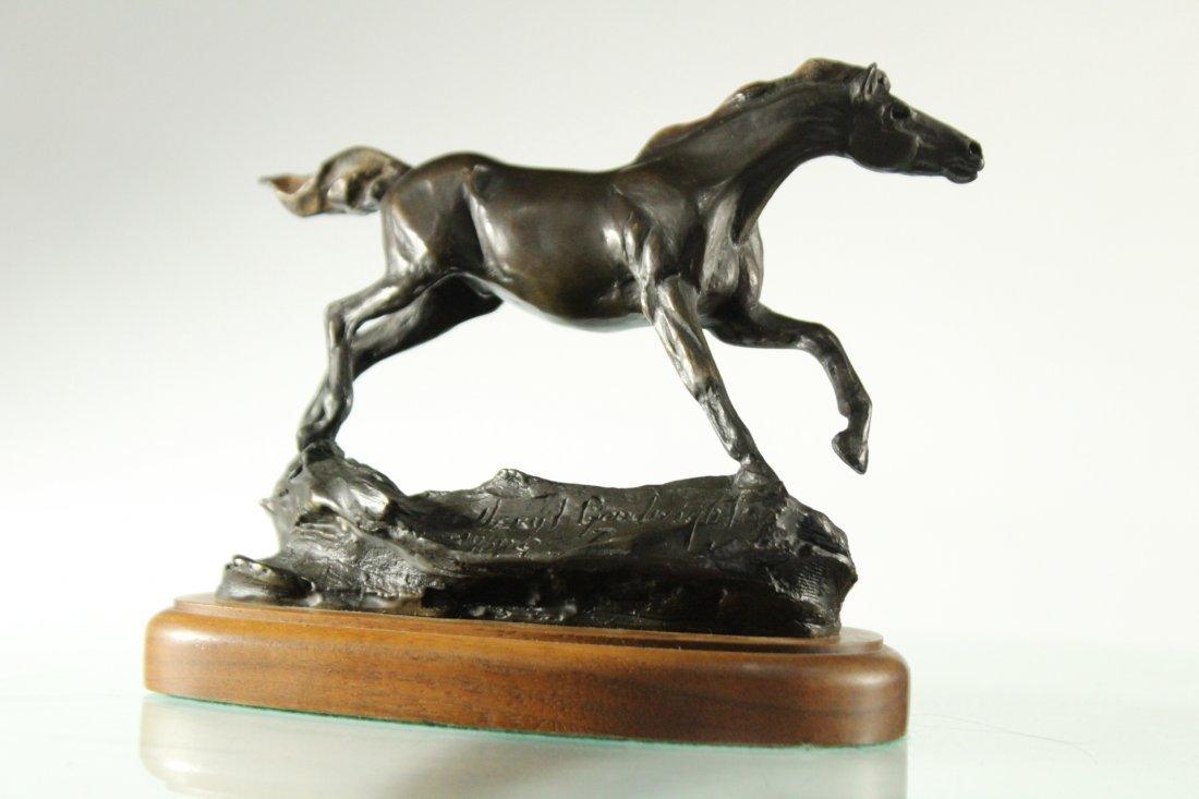VERYL GOODNIGHT (American b.1947] BRONZE HORSE Signed - 3