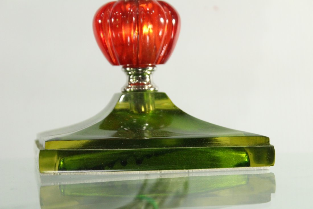 Modern Design Multi Color Tall Stick Lamp - 5