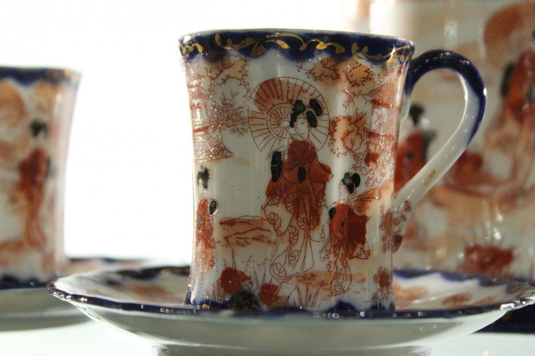 Vintage Japanese tea set, sighed - 5