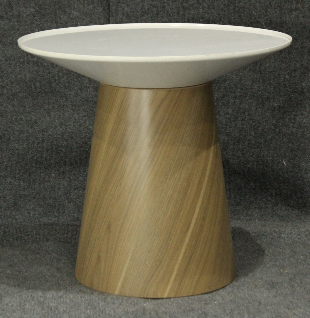 Mid-Century Modern Spinning Top Serving Stand
