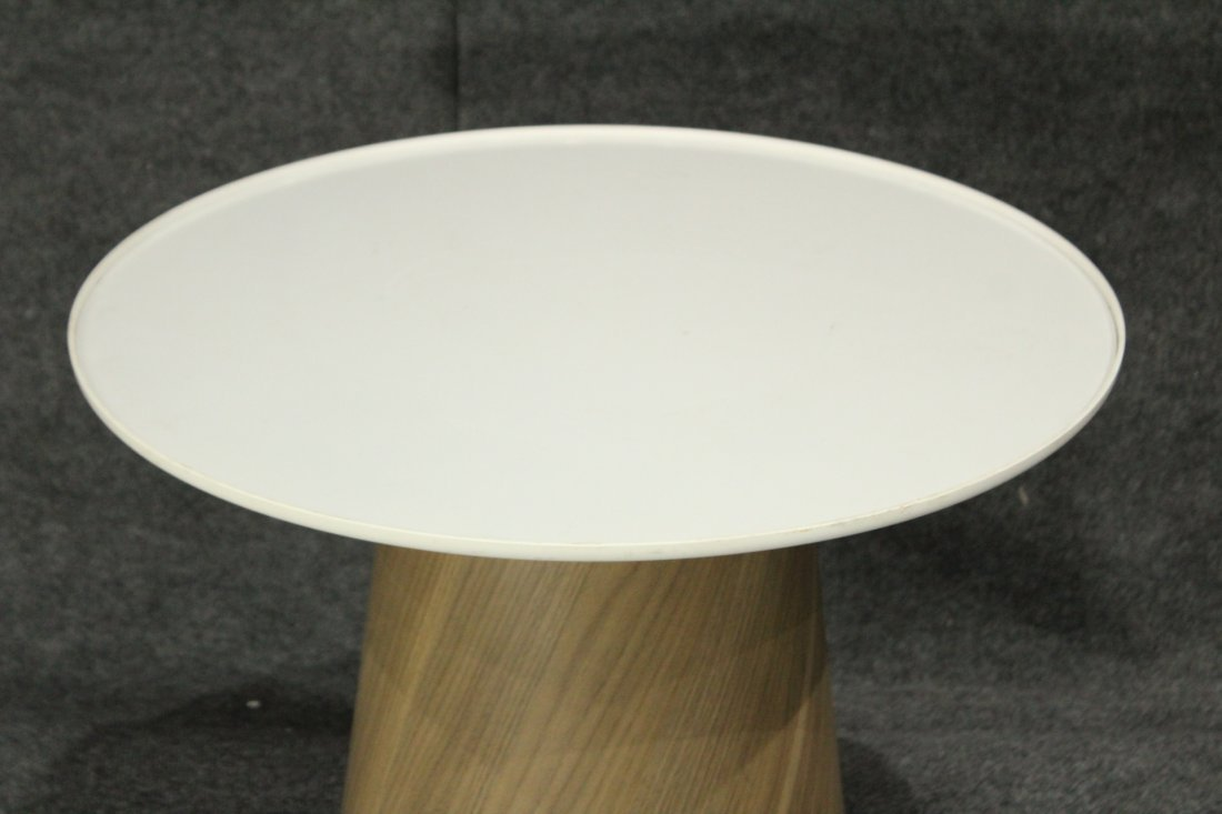 Mid-Century Modern Spinning Top Serving Stand - 2