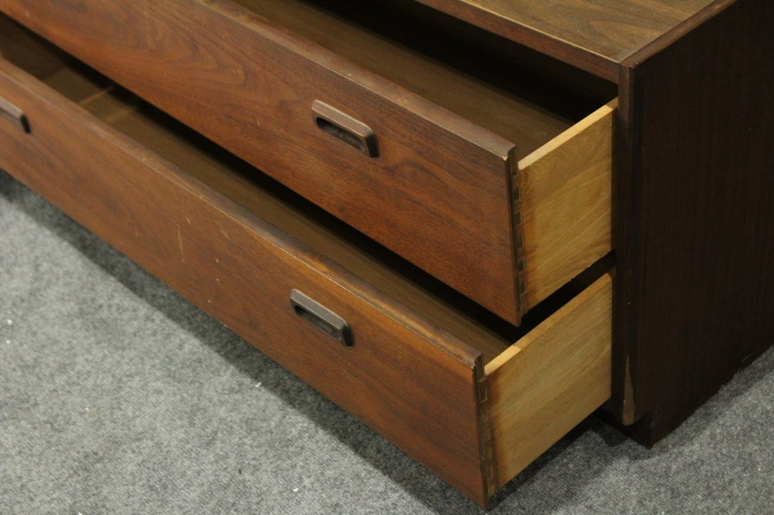 HARVEY PROBBER STYLE Mid-Century 2-DRAWER CHEST Vintage - 2