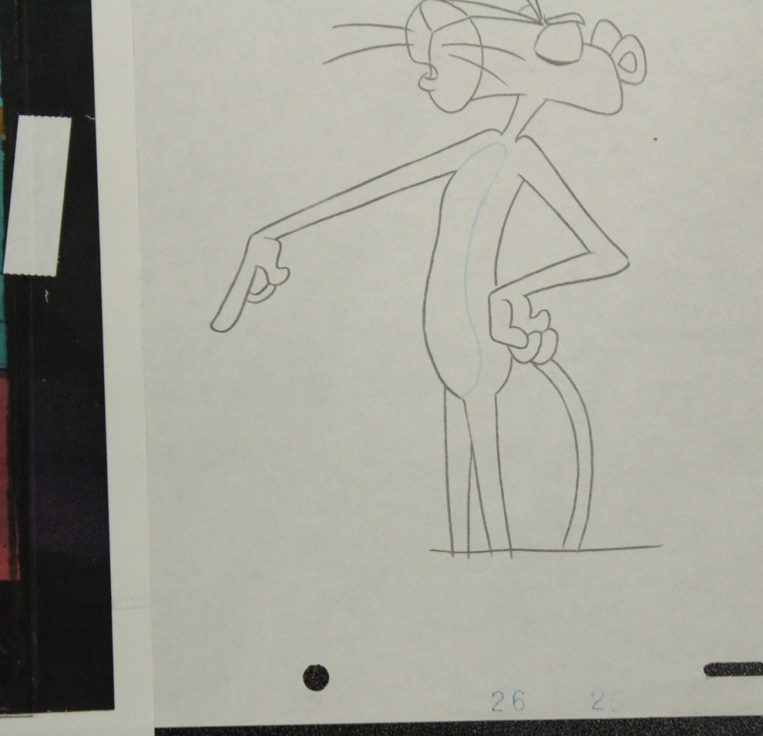 Assorted PINK PANTHER Animation Cels - 3