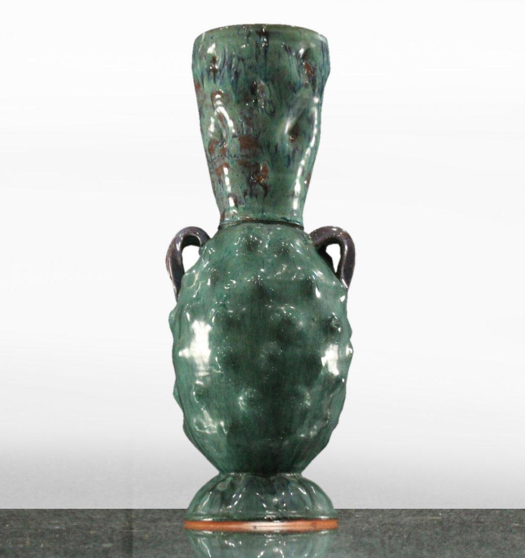 Flynn Mid-century modern handled pottery vase
