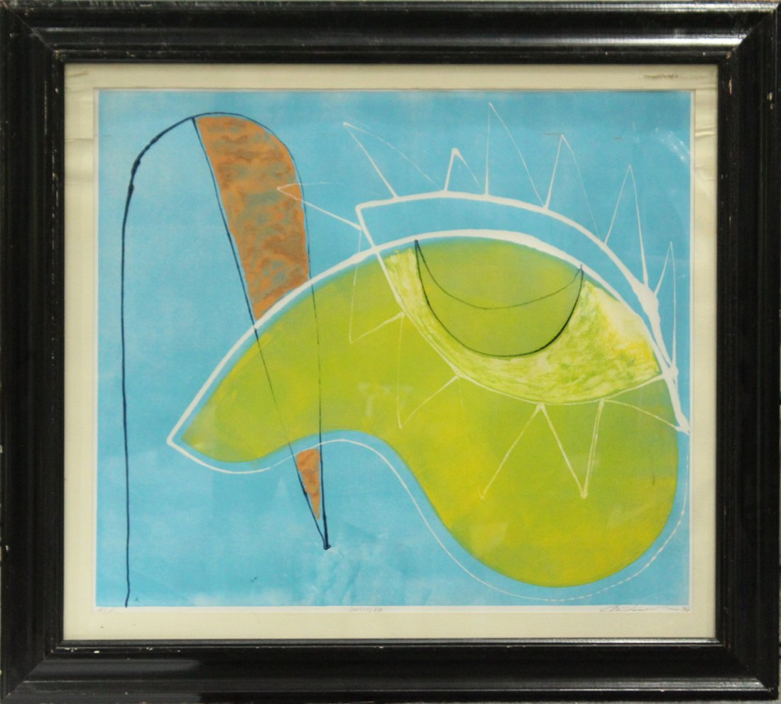 Chai Longenecker Abstract lithograph