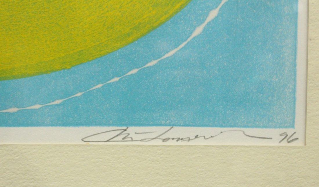 Chai Longenecker Abstract lithograph - 3